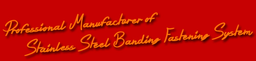 China Stainless Steel Banding Manufacturer